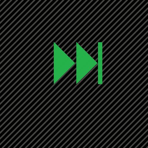 left, next, shift, shift left icon