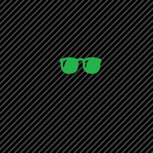 glass, specs, view icon