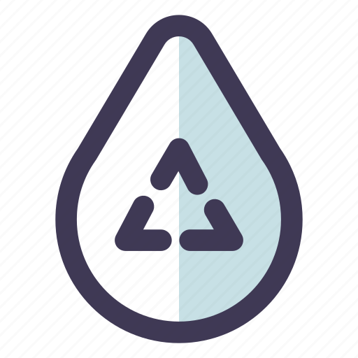 Green, recycle, water icon - Download on Iconfinder