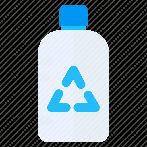 green, plastic, recycle icon