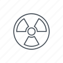 alert, energy, nuclear, nuclear energy, power, radiation icon