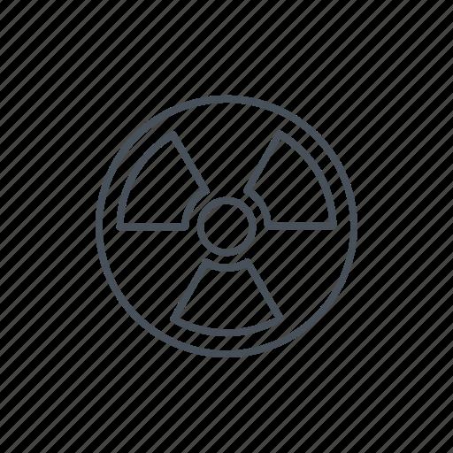 alert, energy, nuclear, nuclear energy, power, radiation icon