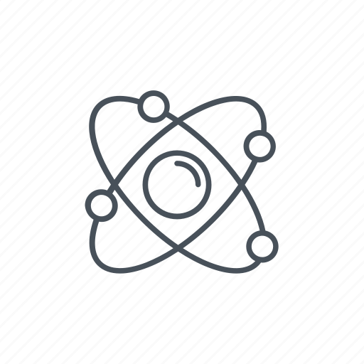 atom, discovery, energy icon, molecule, nuclear energy, research icon