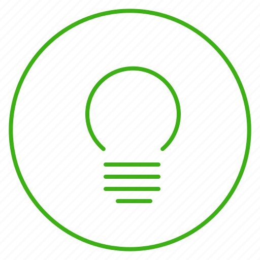 bulb, eco, ecology, electricity, energy, environment, light icon