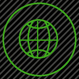 eco, ecology, energy, environment, globe, planet, world icon