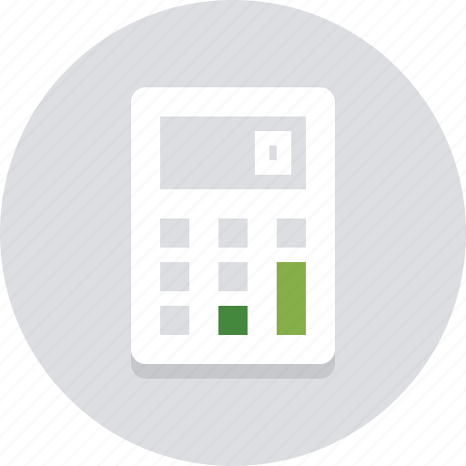 accounting, business, calculation, calculator, financial, math, numbers icon