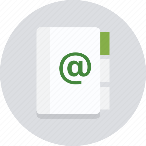 business, contact, contacts, info, information, notebook, office icon