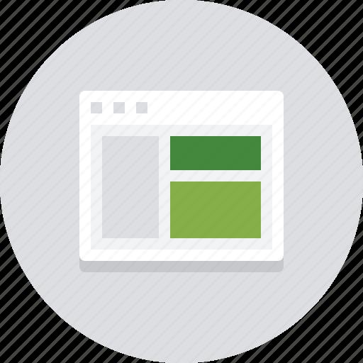 browser, design, designer, internet, online, page, website icon