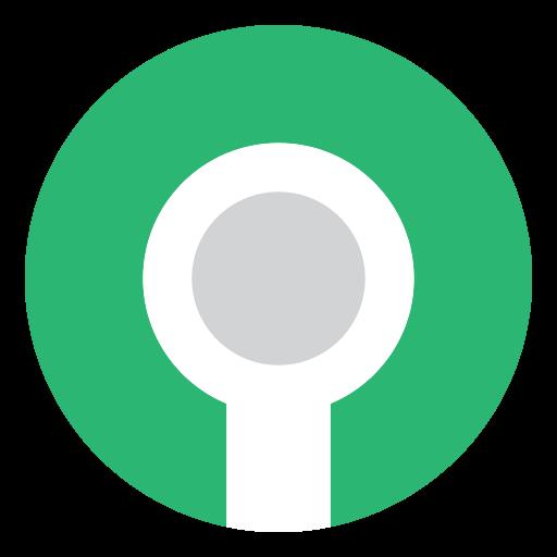 green, hole, key, keyhole icon