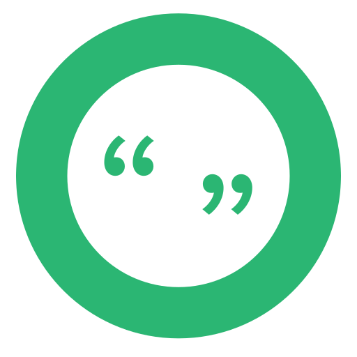 green, quotation mark, quotes icon