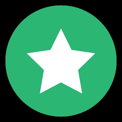 galaxy, green, star icon