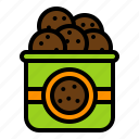 cookie, cookies bag, grocery, shop, sweets icon
