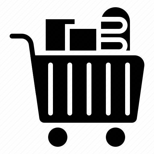 Cart, food, grocery, shopping, supermarket icon