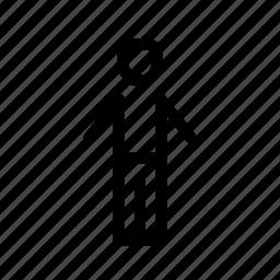 account, head, men, person, profile, square, user icon