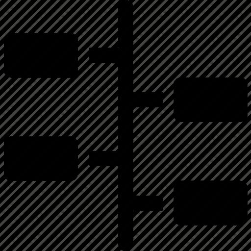 flowchart, process, roadmap, steps, timeline icon