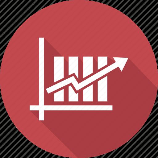 analytics, chart, growth, sales icon