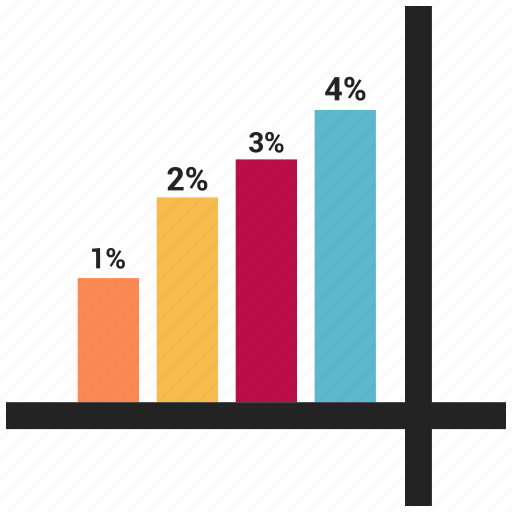 bar, chart, growth, infographic, report, statistics icon