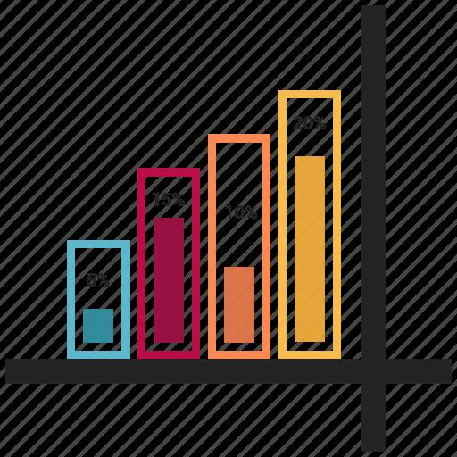 asset, bar, chart, growth, infographic, statistics icon