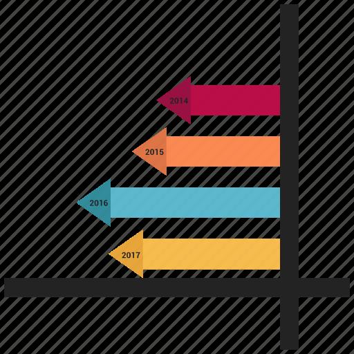 analytics, graph, line graph, presentation icon