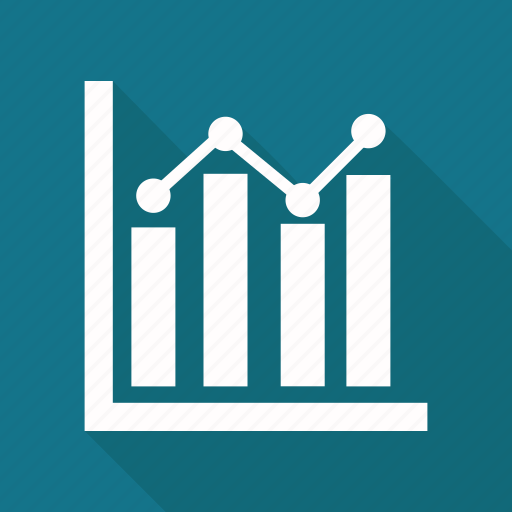 analystic, chart, growth chart, line, report icon