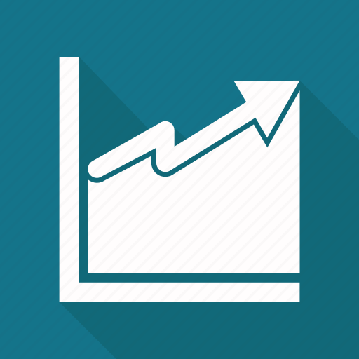 chart, graph, growth chart, revenue growth icon