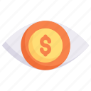 marketing, growth, business, promotion, eye, money, vision