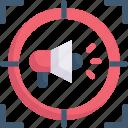 marketing, growth, business, promotion, target marketing, megaphone, ads