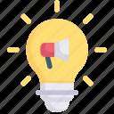 marketing, growth, business, promotion, marketing idea, creativity, light bulb