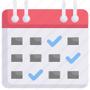 marketing, growth, business, promotion, schedule, calendar, checklist