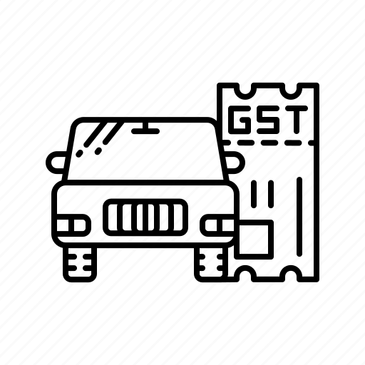 act, car, equal, gst, law, tax, vehicle icon