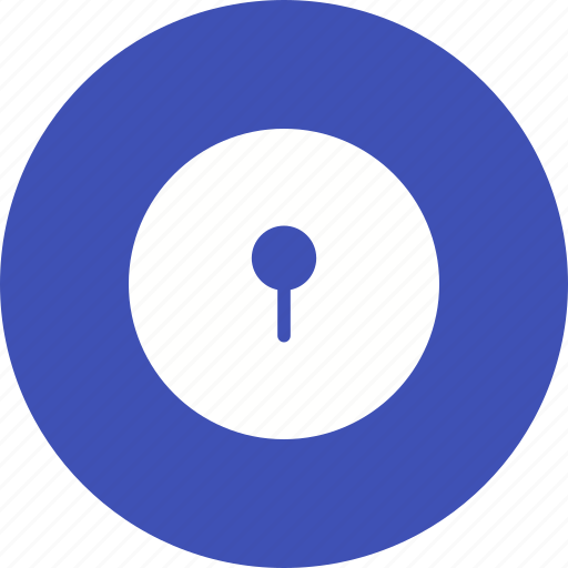 door, enter, hole, key, keyhole, lock, open icon
