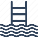 pool ladders, pool stairs, pool steps, swimming ladder, swimming pool icon