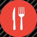 flatware, fork, knife, silverware, utensil icon