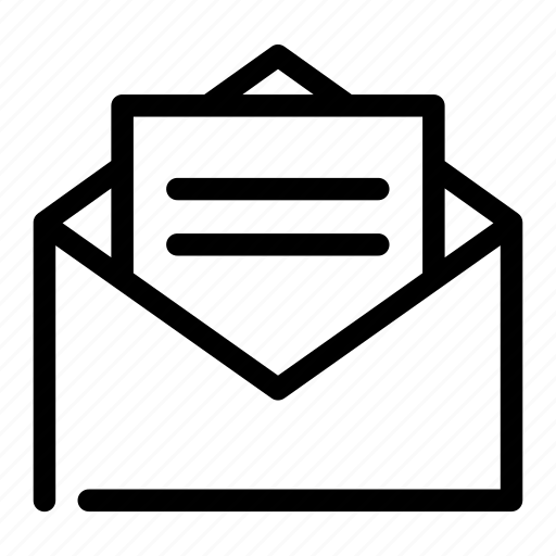 delivery, envelope, letter, mail, message icon