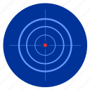 army, night, optics, sniper, target icon