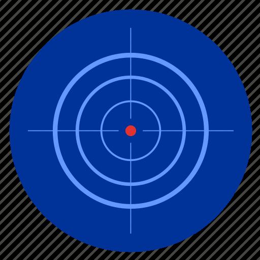 army, night, optics, sniper, target icon