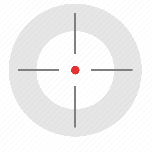gun, optics, sniper, target, targeting, weapon icon