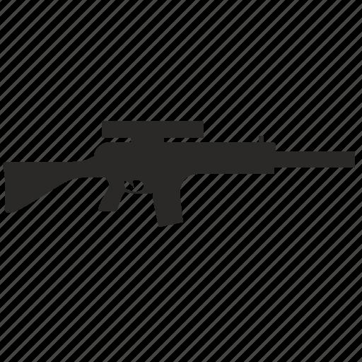 automatic, gun, rifle, swat, weapon icon