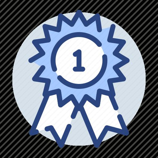 award, best, favorite, prize, ribbon, win icon