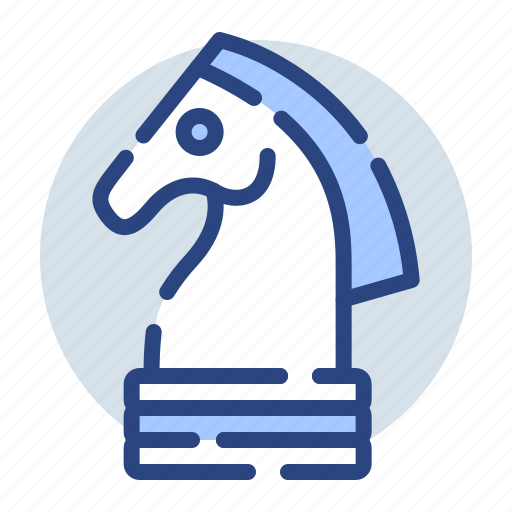 animal, chess, game, gaming, horse, piece icon