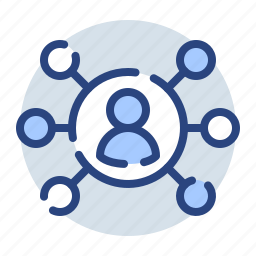 connected, connection, connections, network, networking icon