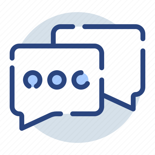 chatting, comment, communication, conversation, dialogue, discussion icon