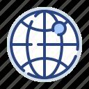 world, globe, international, direction, pointer, location, navigation
