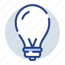 creative, idea, lamp, light, lightbulb icon