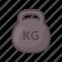fitness, gym, kettlebell, training, weighlift