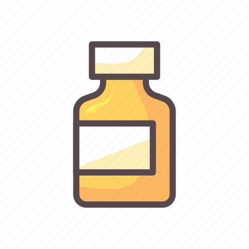 bottle, capsule, fitness, gym, medicine icon