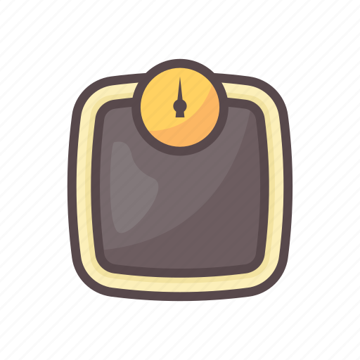 body, fitness, gym, weight, weight scale icon
