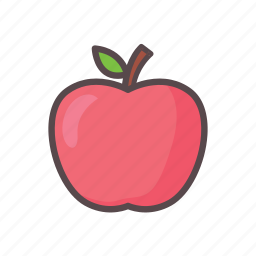 apple, fitness, fruit, gym icon