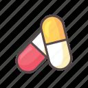 capsule, fitness, gym, medicine