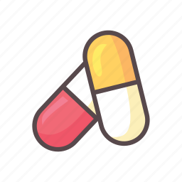 capsule, fitness, gym, medicine icon